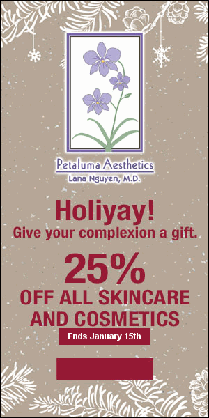 25% off all skincare and cosmetics