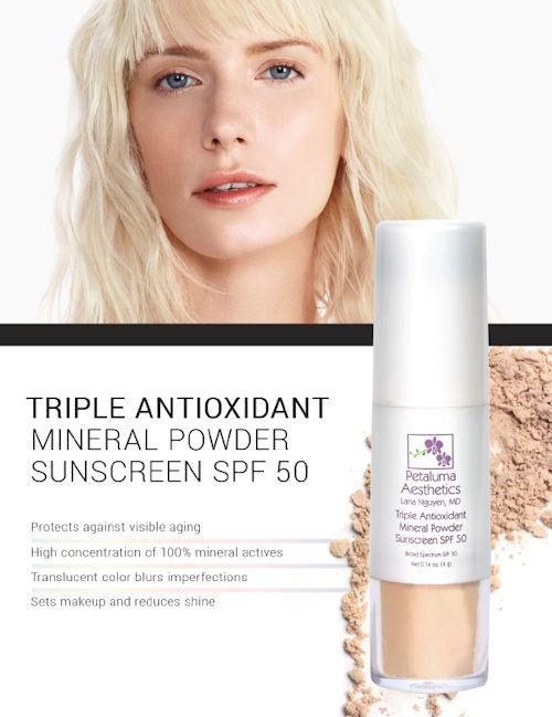 triple antioxidant powder
